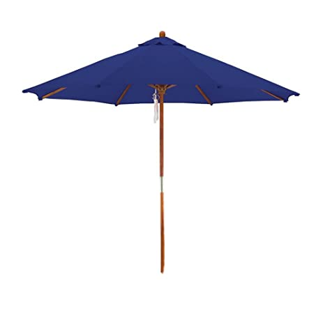 Great Deluxe Market Umbrella In Navy Blue
