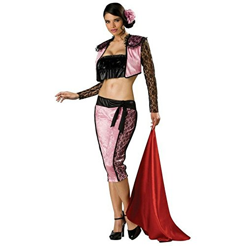 In Character Costumes - Pink Matador Adult Costume - Large
