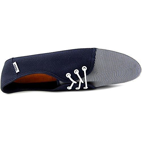 Flacas Mujer Azul Whi Marino Rayas Zapatillas Mujer Vans Tazie Zapatillas IypYqw