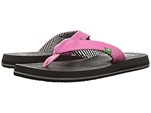 Sanuk Women's Yoga Mat Flip-Flop (7 B(M) US, Pink.)