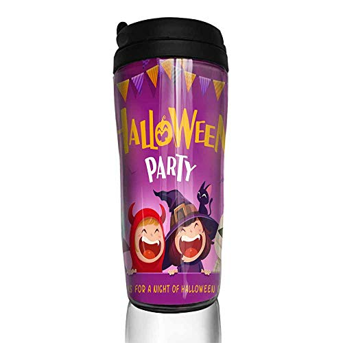 coffee cups holder Halloween Party Group of kids in Halloween costume with big signboard 12 oz,coffee k cup filter for ground coffee -