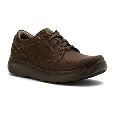 Clarks Men's Charton Vibe Sport Oxford,Brown Nubuck,US 7 M