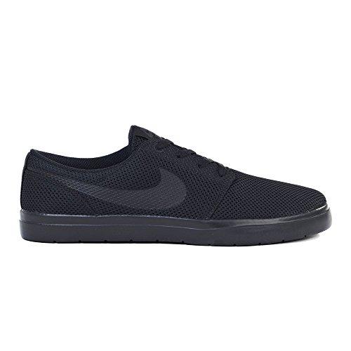 Nike Men's SB Portmore II Ultralight Skate Shoe, Black/Black/Anthracite 13 (Sb Free Skate Nike)