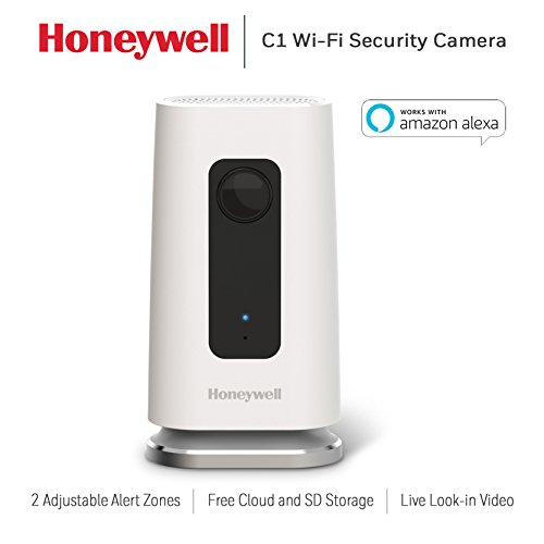 Honeywell Home C1 Indoor Wi-Fi Security (Honeywell Home Security Systems)