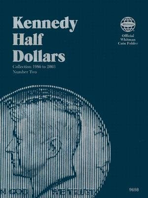 Coin Folders Half Dollars: Kennedy 1986 to 2003 [CFH-KENNEDY 1986 TO 2003]