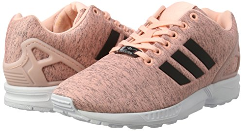 Adidas core Rose ftwr Flux Femme Black Zx haze Sneaker White Basses Coral pxa1qp