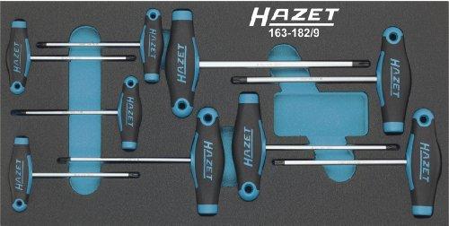 Hazet 163-182/9 T-handle Torx screwdriver set