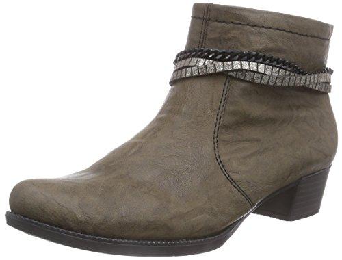 Rieker76693 - botas Mujer Marrón - Braun (mud/oro / 25)