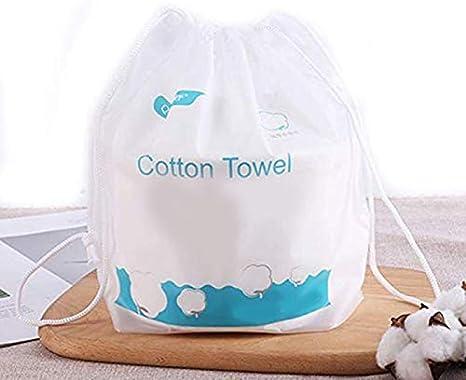 Zyhoue toallitas Secas-toalla Comprimida Tejido Facial de algodón ...