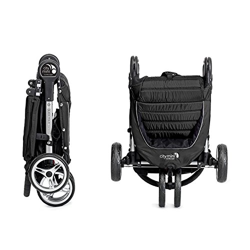 Baby Jogger City Mini Stroller In Black, Gray Frame by Baby Jogger (Image #5)