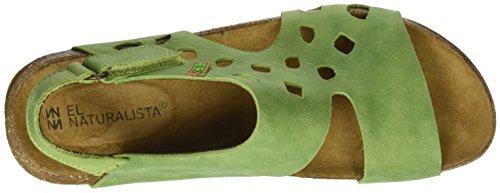 El Naturalista Femme N5061 Vert / Wakataua Sandale Plate Vert