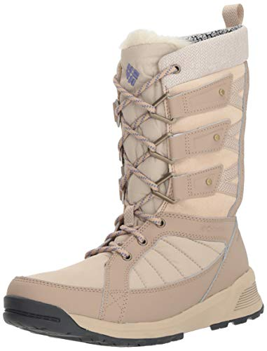 Columbia Women's Meadows Omni-Heat 3D Mid Calf Boot, Ancient Fossil, Eve