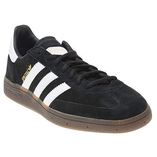 adidas Mens Handball Spezial Nubuck Synthetic Core Black White Trainers 9.5 US