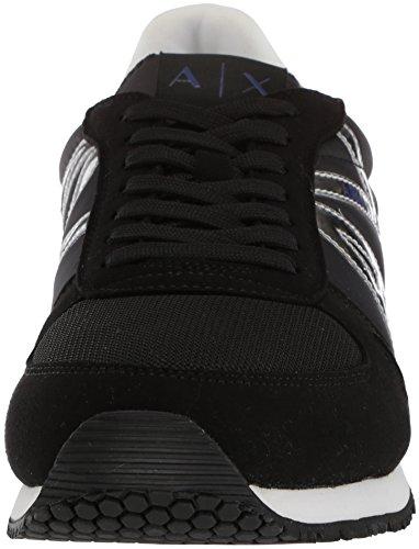 EXCHANGE 955011 Art ARMANI Sneaker Nero 8P420 gw0xTd