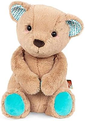 toys by Battat Happy Hues-Butterscotch Bunny Soft /& Cuddly Plush Bunny-Huggab B