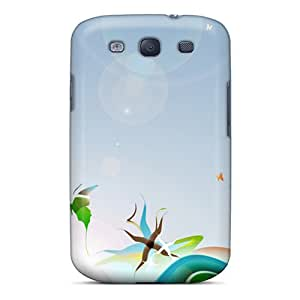 MansourMurray Samsung Galaxy S3 Protector Hard Cell-phone Cases Custom Nice Butterfly Pattern [yQD19546zhvE]