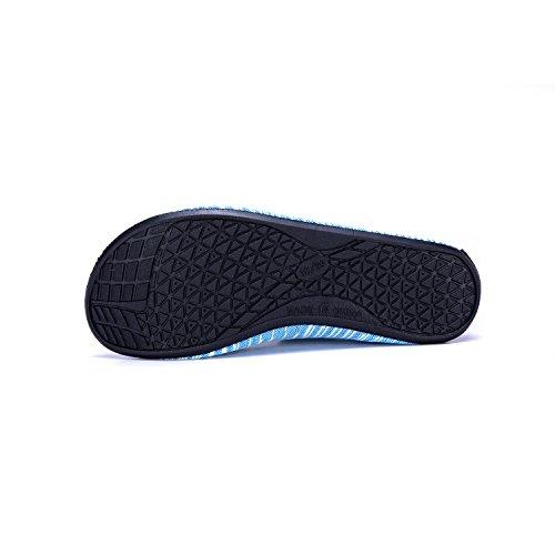de Soles de Piscina LK Zapatos Rápido Secado Agua Calzado Agua grün Zapatos Respirable Color Playa LEKUNI de Natación de Unisex de Xhw Uq7qta