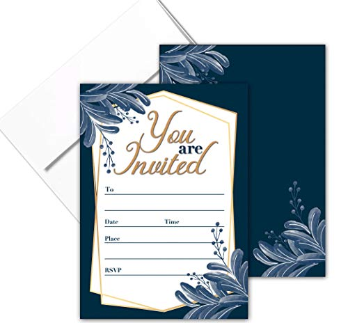 You are Invited Formal Fill-in Party Invitations with