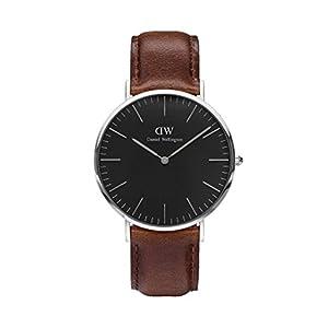 Daniel Wellington–Reloj Hombre 40mm Daniel Wellington Classic Black Bristol Silver dw00100131 11