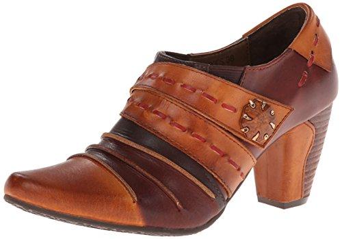 L'artiste By Spring Step Women's Wondrous dress Pump, Brown/Multi, 36 EU/5.5-6 M US (Brown Multi Leather Pumps)