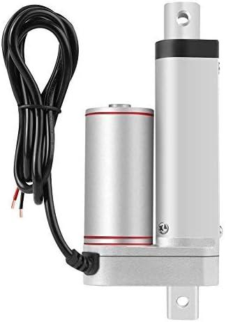 Actuador lineal - Actuador eléctrico lineal de 50 mm Carrera de trabajo pesado 750N línea recta eléctrico actuador lineal 24V