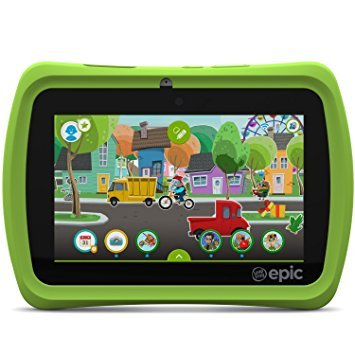 LeapFrog Epic 7'' Android-based Kids Tablet 16GB, Green (Certified Refurbished)