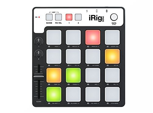 IK Multimedia iRig Pads MIDI groove controller for iPhone, iPad and Mac/PC