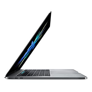 Apple MacBook Pro MLH42LL/A 15-inch Laptop with Touch Bar, 2.7GHz quad-core Intel Core i7, 512GB, Retina Display, Space Gray (Discontinued by Manufacturer)
