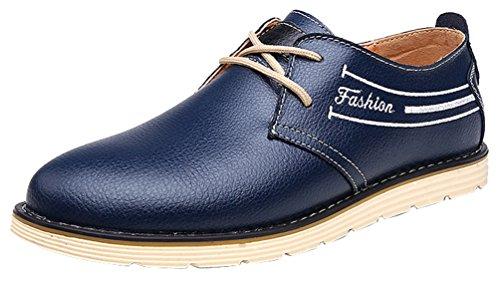 Bleu à homme Chaussures lacets Salabobo xATqFRT