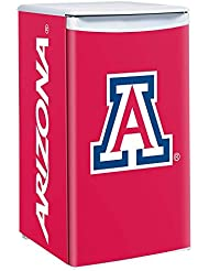 Arizona Wildcats 3.2 Cubic Feet Counter Height Fridge