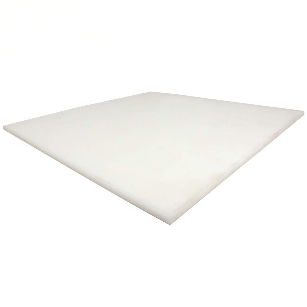 homopolymer Delrin Natural 0.25 Plastic Plate Acetal 24.0X24.0