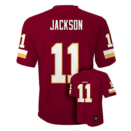 (DeSean Jackson Washington #11 Red NFL Youth Home Mid Tier Jersey (Medium 10/12))