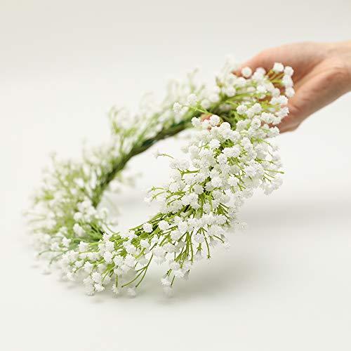 Nubry 10pcs Babys Breath Artificial Fake Flowers Bouquet