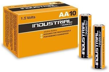Caja 10 Pilas Duracell LR6 AA Industrial, Cablepelado: Amazon.es: Electrónica