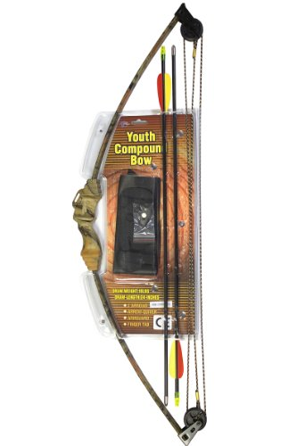 youth compound bow 10 pound draw - 4