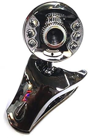 PC cámara 12 Megapixel USB Webcam con LED iluminación micrófono para ordenador portátil, portátil, PC, pantalla plana: Amazon.es: Electrónica
