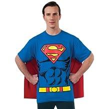 Rubie's Costume Dc Comics Superman Costume T-Shirt with Cape