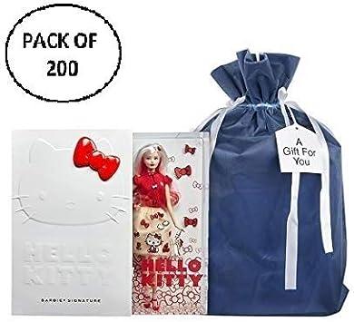 Yoursfs Bolsas de organza peque/ñas bolsas de joyer/ía con cord/ón 2,8 x 3,5 pulgadas bolsa de recuerdo de boda 100 unidades de 7 x 9 cm