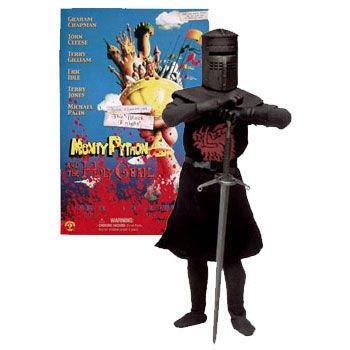 JOHN CLEESE AS THE BLACK KNIGHT 12 Inch Monty Python and the Holy Grail 2002 Sideshow Toy Collectible Action Figure ()
