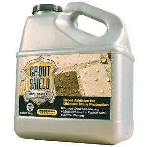 Miracle Sealants Grout Shield, 70oz (Best Stain Resistant Grout)