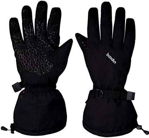 [해외]스키 장갑 스키 장갑 스노우보드 장갑 방수 방한 장갑 일체형 남성용 겨울 용 【 1 년간 보증 】 / Ski Gloves Ski Gloves Snobo Gloves Waterproof Winter Gloves With Anti-Slip Non-Slip Unisex Winter [One Year Warrant