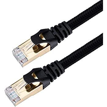 cat7 ethernet cable vandesail cat 7 rj45 lan network cable high speed durable nylon. Black Bedroom Furniture Sets. Home Design Ideas