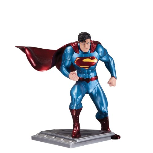 (DC Collectibles The Man of Steel Superman Action Figure Statue by Jim Lee)