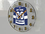 NHL National Hockey League - Eastern Conference - Atlantic Division Jersey Wall Clocks - Free Customization -