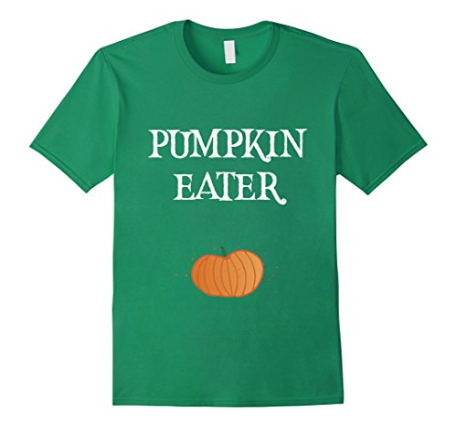 [Mens Peter Peter Pumpkin Eater T-Shirt Halloween Couples Costume XL Kelly Green] (Last Minute Partner Halloween Costumes)