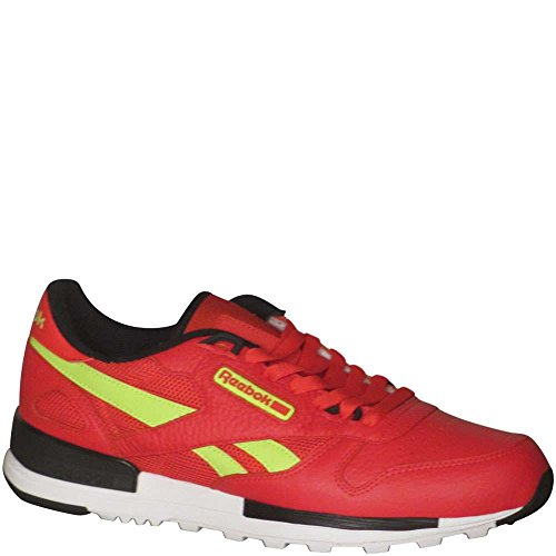 Reebok Hombres Classic Leather Leather 2.0 Primal Red / Black / Solar Yellow / White