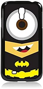 Batminion- Hard Black Plastic Snap - On Case-Galaxy s4 i9500 - Great Quality!