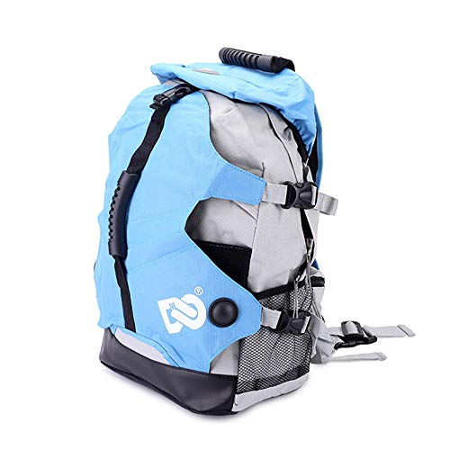 HETH Ice Skating Bag,Ice Skate Bag,Roller Skate Shoe Multifunction Waterproof Backpack for Both Kids and Adults - Skate Ice Skating Backpack