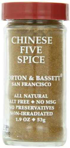Morton & Basset Spices, Chinese Five Spice, 1.9 Ounce (Pack of 3) by Morton & Bassett