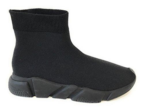 Jeffrey Campbell Sock 36 Black Sole